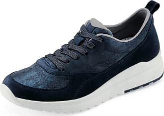 Legero Womens 7-00897-84 Marina Lace-Up Shoe Dark Blue