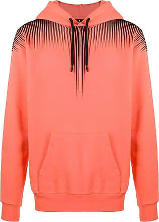 Marcelo Burlon Fashion Man CMBB007S20FLE0042010 Orange Cotton Sweatshirt   Spring Summer 20