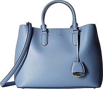 442a7d74836e Ralph Lauren Dryden Marcy Satchel Large (Blue Mist Cosmic Blue) Satchel  Handbags