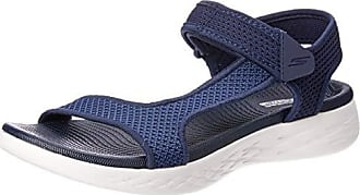 Women's Skechers On the GO 600 Nitto Slide Sandal Gray (US