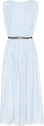 Gabriela Hearst Cristina linen midi dress