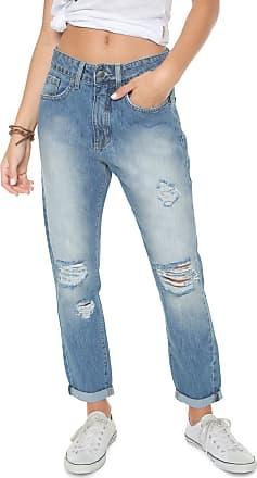 Rip Curl Calça Jeans Rip Curl Boyfriend Loloma Azul