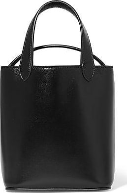 Givenchy Givenchy Woman Glossed-leather Bucket Bag Black Size fb8b4885347fd