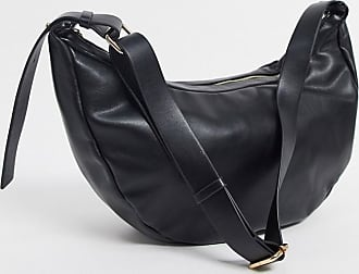 Glamorous sling tote bag in black