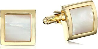 Stacy Adams Stacy Adams Mens Square with Mother Of Pearl, Gold, One Size