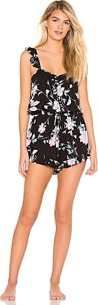 Yumi Kim Lullaby Romper in Black