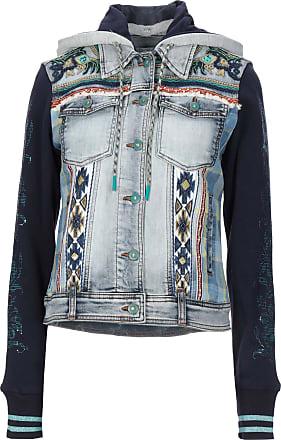 Desigual JEANS - Capispalla jeans su YOOX.COM