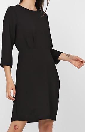 Vero Moda Vestido Vero Moda Curto Texturizado Preto