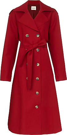 Khaite Trench coat Lauren - Vermelho