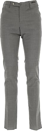 PT01 Pants for Men On Sale in Outlet, Grey, polyester, 2017, 34
