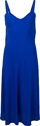 Jovonna London Vestido com amarração na cintura - Azul