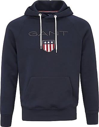 GANT Sweatshirt Kapuze GANT blau