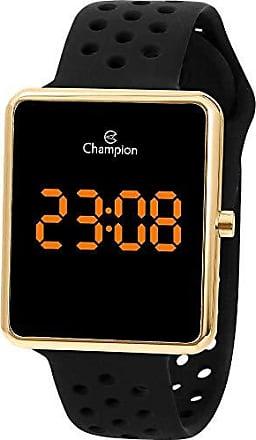 Champion Relógio Champion Digital Ch40081j Preto Digital 3 Atm Cristal Mineral Tamanho Médio