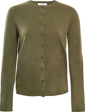White Label Marks & Spencer Womens Fine Knit Cardigan Soft New M&S Round Neck Cardie Top Green Size 16
