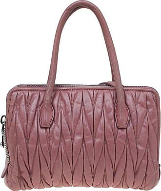 Miu Miu Miu Miu Pink Matelasse Leather Top Handle Bag 3079447e7db9c