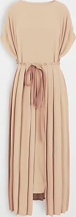 Maison Margiela Unterschiedlich Tragbares Kleid Mit Falten