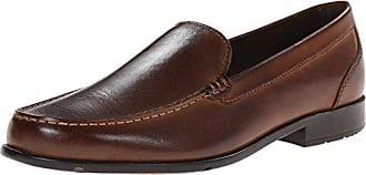 de105032957 Rockport Mens Classic Lite Venetian Slip-On Loafer- Dark Brown-11.5 M