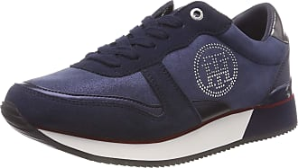 68832c51fda Tommy Hilfiger Womens Tommy Stud City Sneaker Low-Top