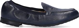 Truman's Loafers 8928 deerskin blue