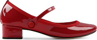 8a36be9b44889b Repetto Babies Rose - Cuir vernis Rouge flamme - 40.5