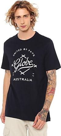 Globe Camiseta Globe Estampada Azul-marinho
