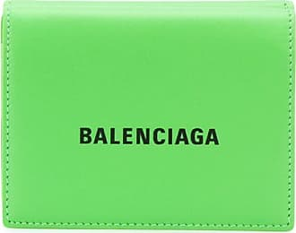Balenciaga Carteira Cash mini - Verde