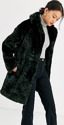 Whistles frankie faux fur animal coat-Multi