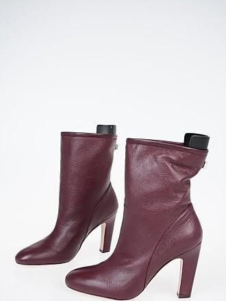Stuart Weitzman 10cm Leather BROOKS Ankle Boots size 36,5