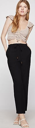 BCBGeneration Paperbag Waist Shirred Pant