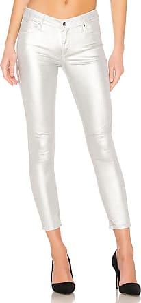 Rta Prince Skinny Jean in Sound Silver