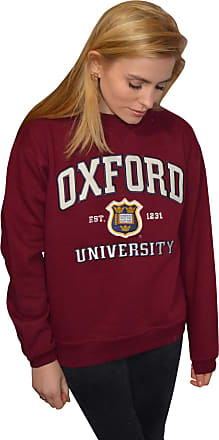 Oxford University OU201 Unisex Licensed Sweatshirt Maroon X-Large