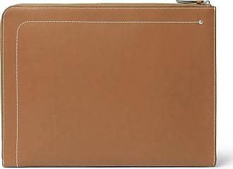 CONNOLLY Hex Leather Portfolio - Tan