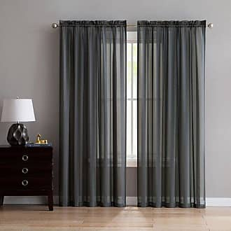 Better Homes & Gardens Satin Stripe Window Curtain Panel Brown - STS-PNL-5495-WD-BR