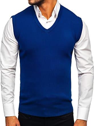 Sweater Jumper Knitwear Crew Neck V-Neck Zip Pullover Mens Mix BOLF 5E5 Casual