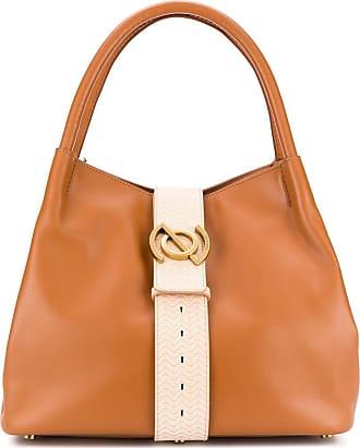 Zanellato logo detailed tote bag - Brown