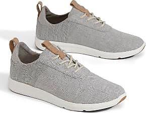 Toms Drizzle Grey Chambray Canvas Damen Cabrillo Sneaker - US 5.5 - Grey/White
