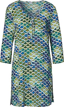 Madeleine Tunika in blau MADELEINE Gr 34, wollweiß/multicolor für Damen. Polyester. Waschbar
