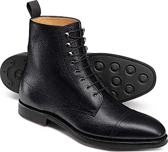 a3f89c61f461 CHARLES TYRWHITT Goodyear rahmengenähte Stiefel mit Zehenkappe in Schwarz