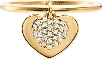 Michael Kors MKC1121AN710 Love Heart Duo Ring Gold