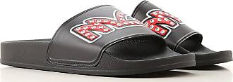Alexander McQueen Slip on Sneakers for Women On Sale, Black, Leather, 2017, 10 6 7 8 9