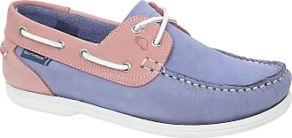 Quayside Unisex Adults Bermuda Cayman Boat Shoes, Pink (Blue Bluebell/Rose 001), 7 (41 EU)