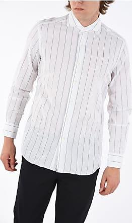 Corneliani ID Camicia Bengal Stripe Collo Francese taglia 40