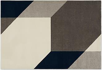 MADE.COM Timanti Teppich (160 x 230 cm), Blau