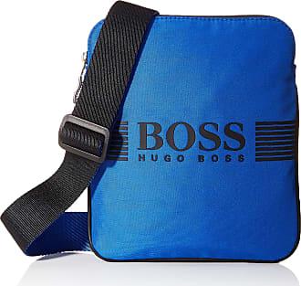 BOSS Pixel_s Zip Env Bw, Mens Shoulder Bag, Blue (Medium Blue), 1x23.5x19.5 cm (B x H T)