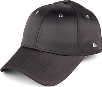 best loved 1e3a0 98bd8 New Era Cap - New Era Women Premium Black 9Forty Baseball Cap - Adjustable  - Satin