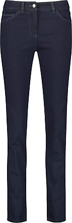 Gerry Weber Womens Best4me Straight Jeans, Blue (Dark Blue Denim 86800), 16R (Manufacturer Size: 42R)