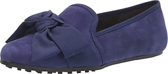 Aerosoles Womens Driving Style Loafer, Blue Suede, 3 UK