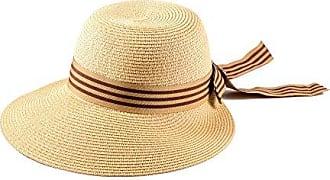 Rot H51304-5 Miuno/® Damen Sonnenhut Elegant Partyhut Faltbare Kappen Sonnen Schutzen