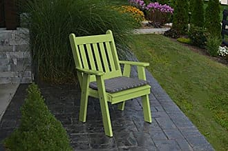 A & L Furniture A & L Furniture Poly Traditional English Chair, Lime