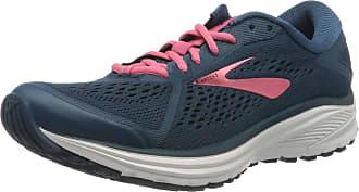 Brooks Womens Aduro 6 Running Shoe, Majolica/Pink/White, 4.5 UK